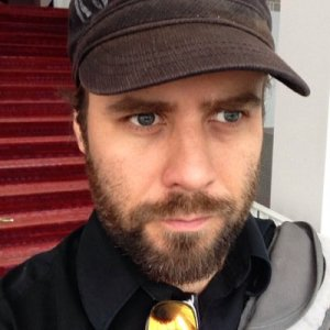 Mike is a game creator and a man with a gaze as intense as a thousand suns.